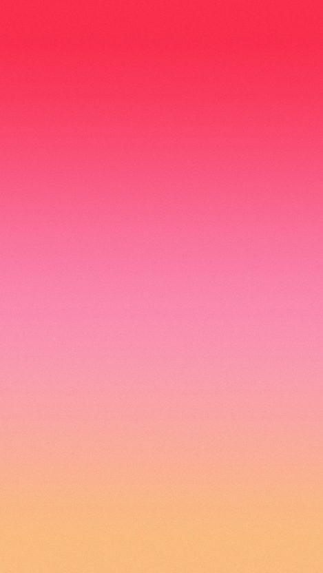 Beautiful Pink Orange Gradient Background IPhone Wallpaper