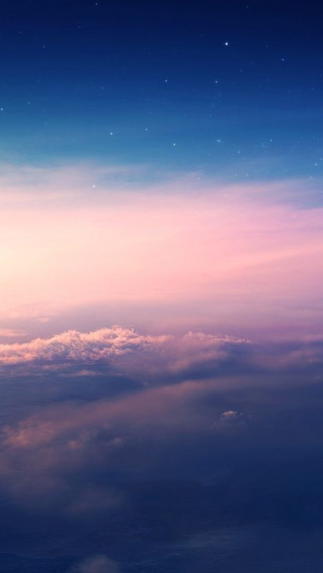 Beautiful Sky Clouds Sunset Wallpaper IPhone