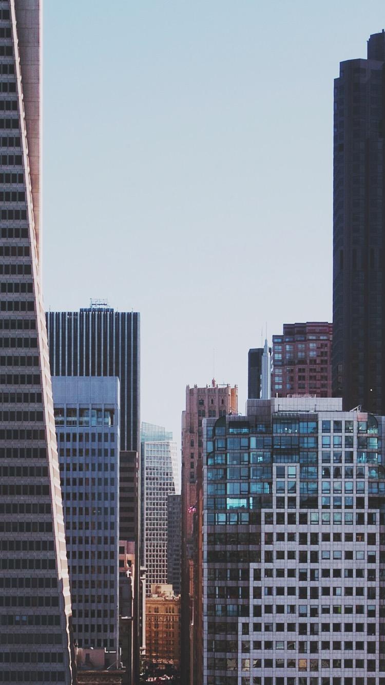 Chicago Buildings iPhone Wallpaper iphoneswallpapers com