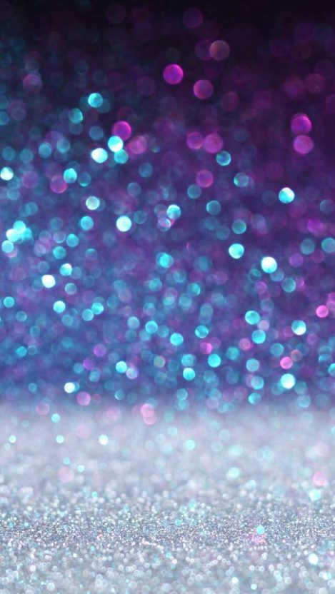 Colourful Bokeh Particles iPhone Wallpaper iphoneswallpapers com