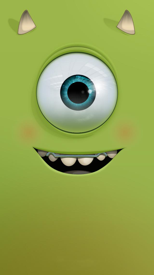 Cute Monster iPhone Wallpaper iphoneswallpapers com