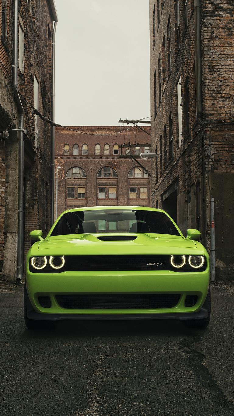 Dodge-Challenger-SRT-Hellcat-iPhone-Wallpaper - iPhone Wallpapers