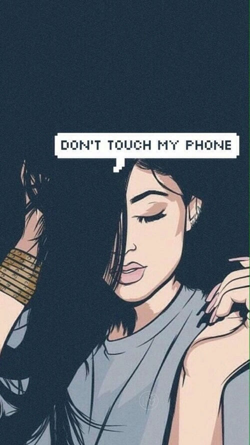 Dont Touch My Phone iPhone Wallpaper iphoneswallpapers com