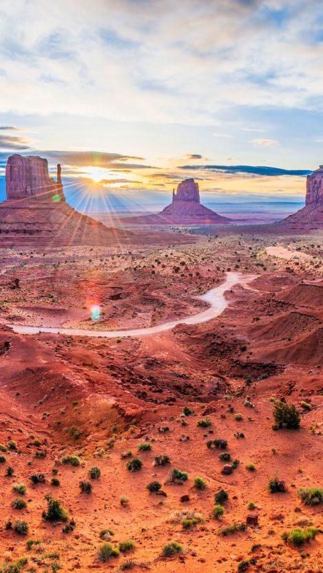 Grand Canyon Desert iPhone Wallpaper iphoneswallpapers com