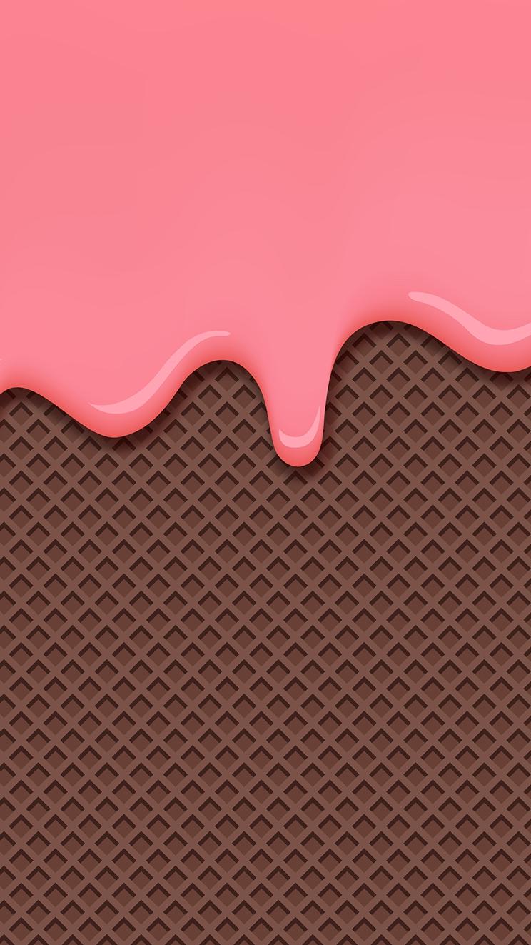 Ice Cream Cone iPhone Wallpaper iphoneswallpapers com