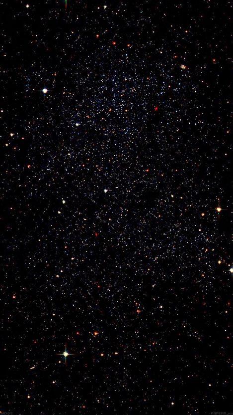 Infinite Galaxies In Space Stars Nebula IPhone Wallpaper