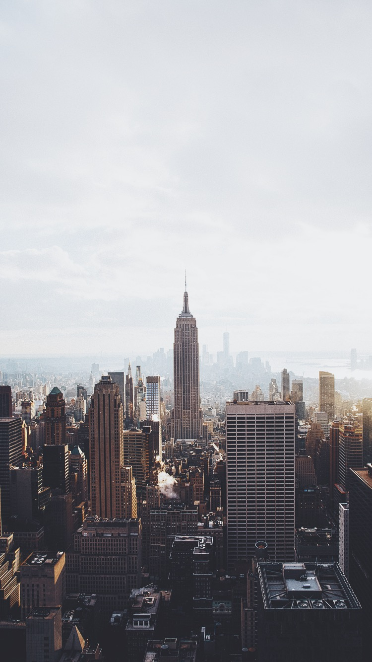 Manhattan-New-York-iPhone-Wallpaper