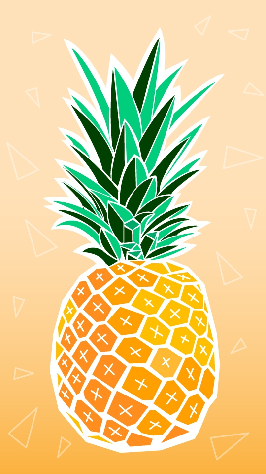 pineapple iphone wallpaper iphone wallpapers. Black Bedroom Furniture Sets. Home Design Ideas