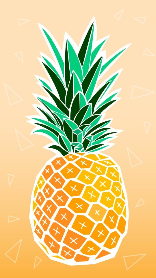 Pineapple iPhone Wallpaper iphoneswallpapers com