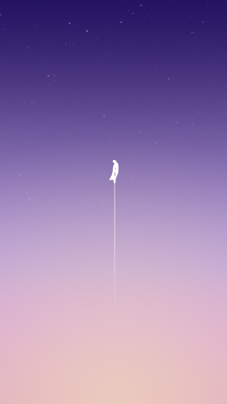 Superman Leaving the Earth iPhone Wallpaper iphoneswallpapers com