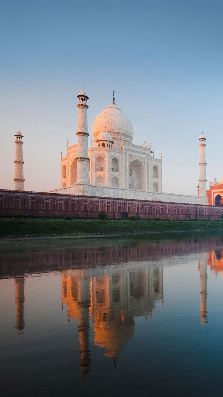 Taj Mahal Hd Iphone Wallpaper Iphone Wallpapers