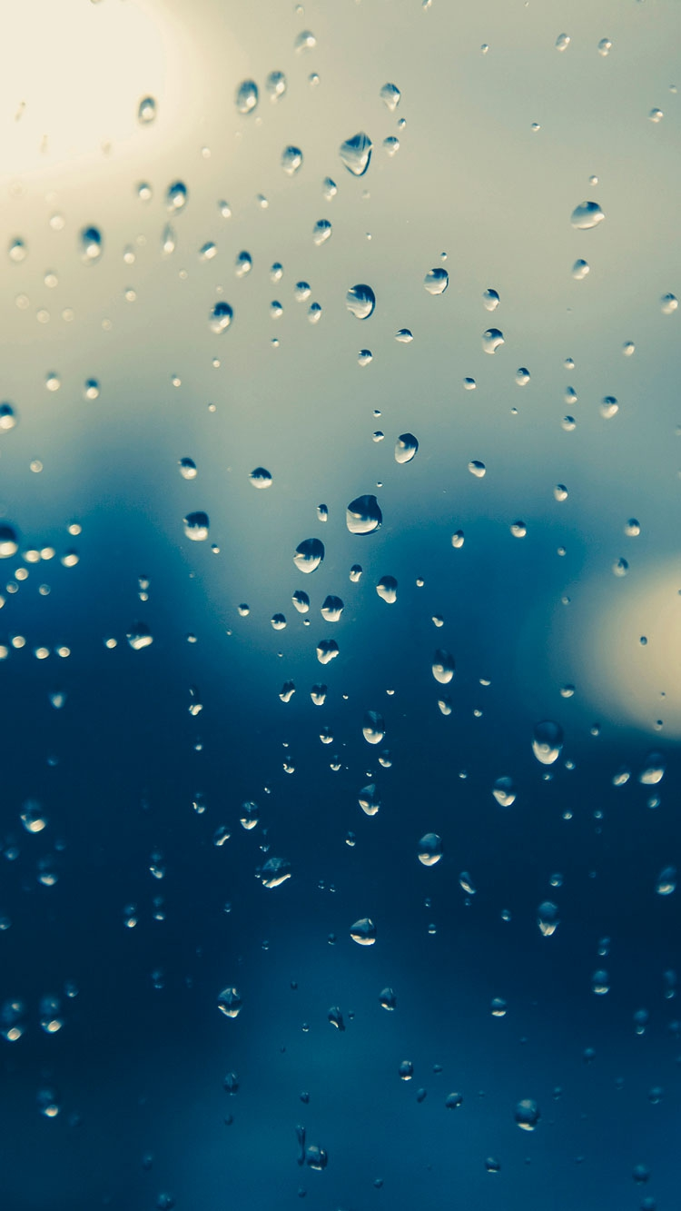 Water Drop Raining iPhone Wallpaper iphoneswallpapers com