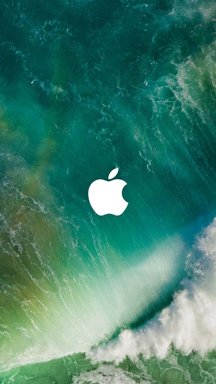 iOS Apple Logo iPhone Wallpaper iphoneswallpapers com