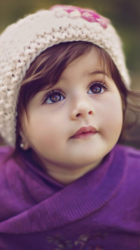 Cute Baby Girl Kids Wallpaper iPhone Wallpaper iphoneswallpapers com