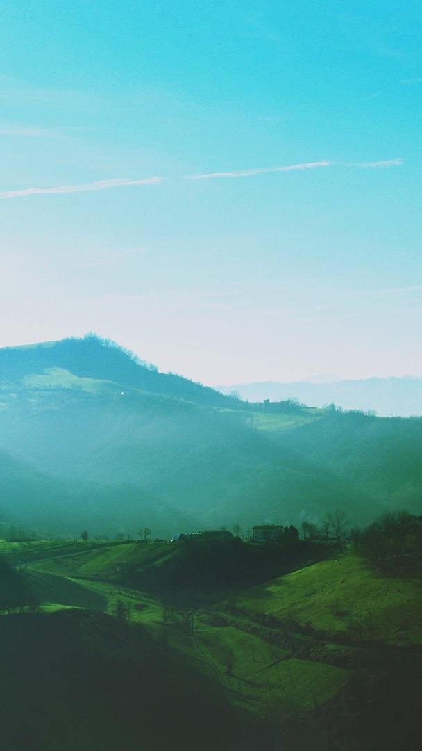 Green Mountains Morning Wallpaper iPhone Wallpaper iphoneswallpapers com