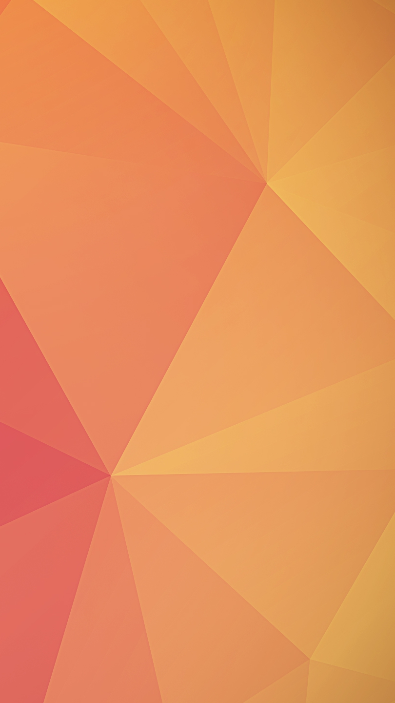 Orange Polygon iPhone Wallpaper iphoneswallpapers com