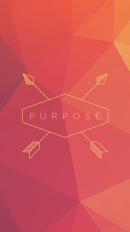 Purpose Polygon iPhone Wallpaper iphoneswallpapers com