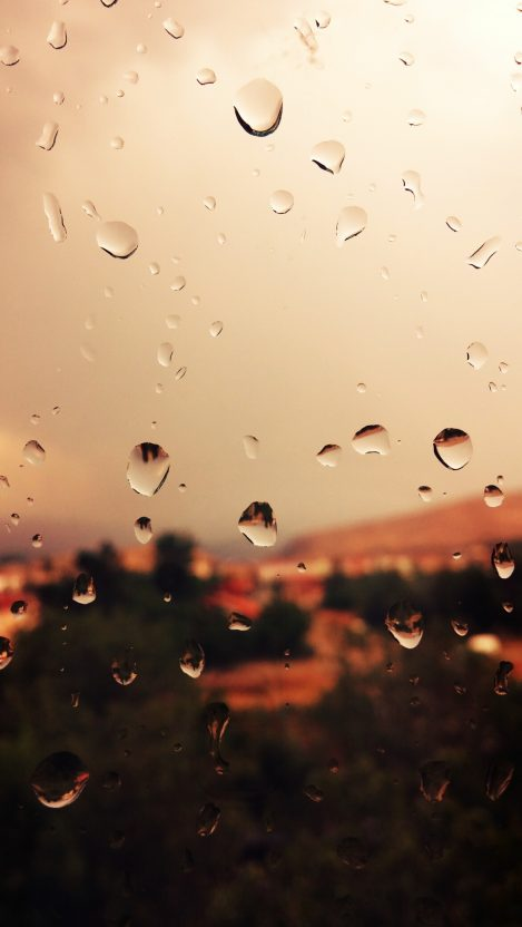 Raindrops on Glass iPhone Wallpaper iphoneswallpapers com