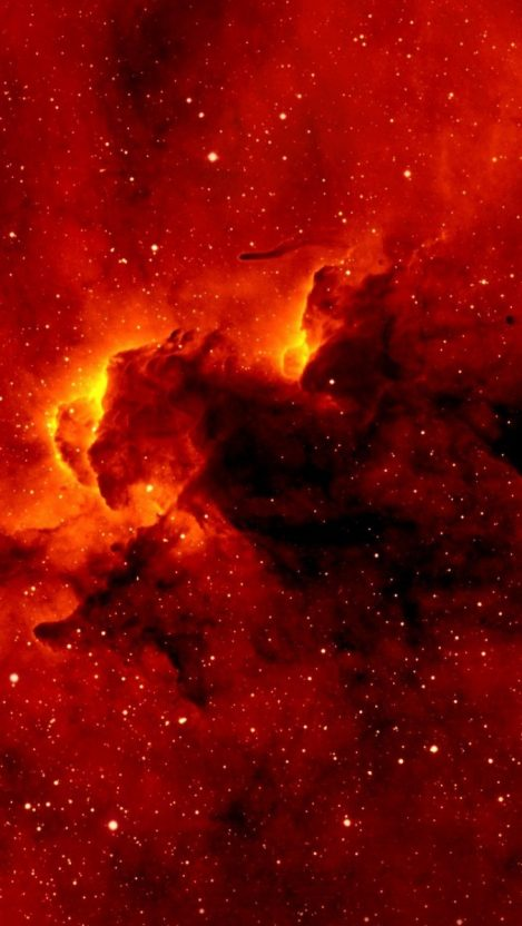 Space wallpapers iphone wallpapers - Red galaxy wallpaper ...