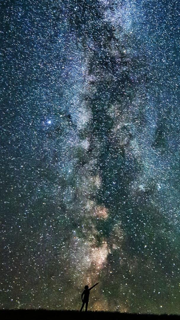 Shooting Star Galaxy Infinity Stars iPhone Wallpaper iphoneswallpapers com