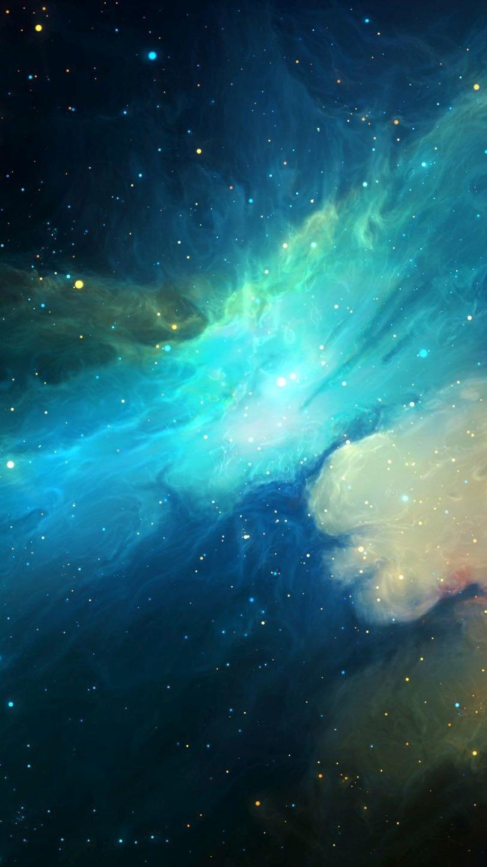 Universe-Nebula-Galaxy-Artwork-iPhone-Wallpaper