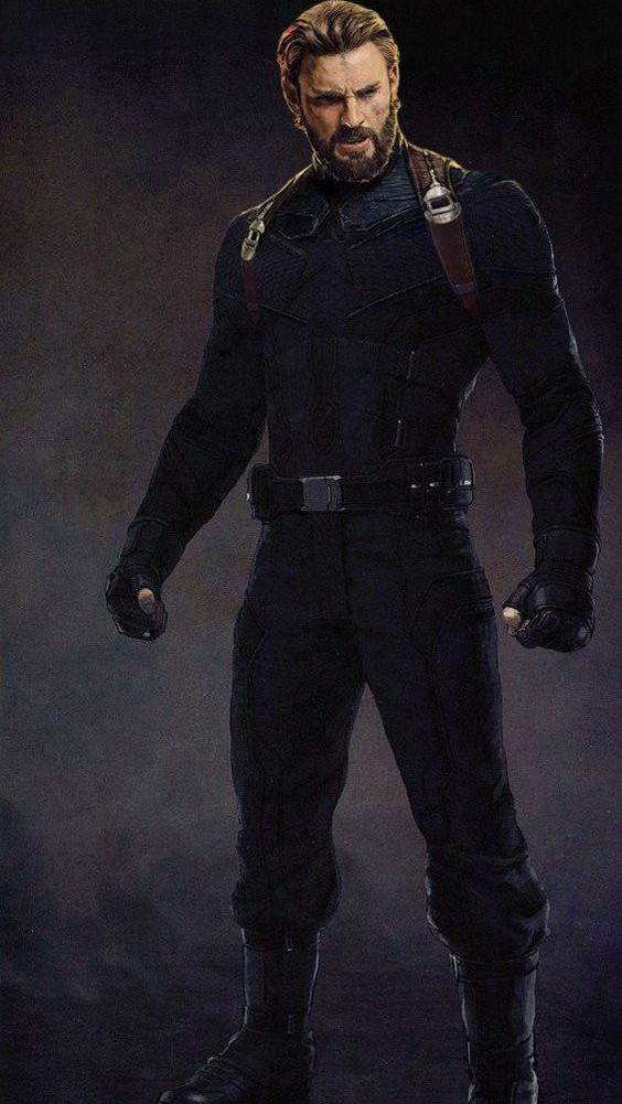 Avengers Infinity War Captain America Iphone Wallpaper