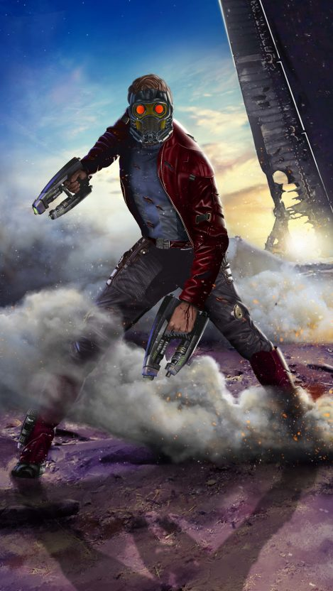 Guardians of the Galaxy Star Lord iPhone Wallpaper iphoneswallpapers com