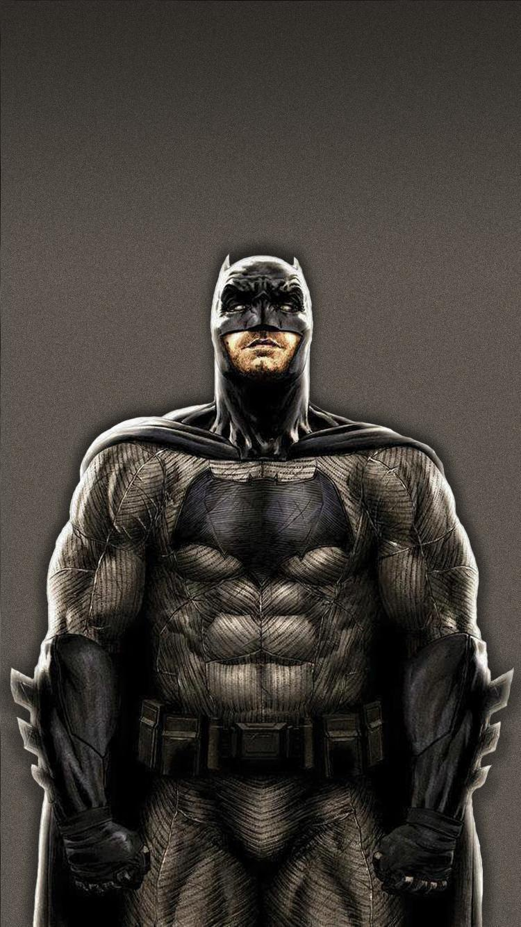 Muscular Batman Iphone Wallpaper Iphoneswallpapers Com