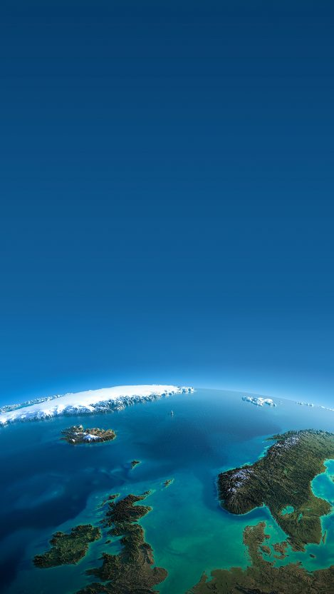 3D Earth View iPhone Wallpaper iphoneswallpapers com