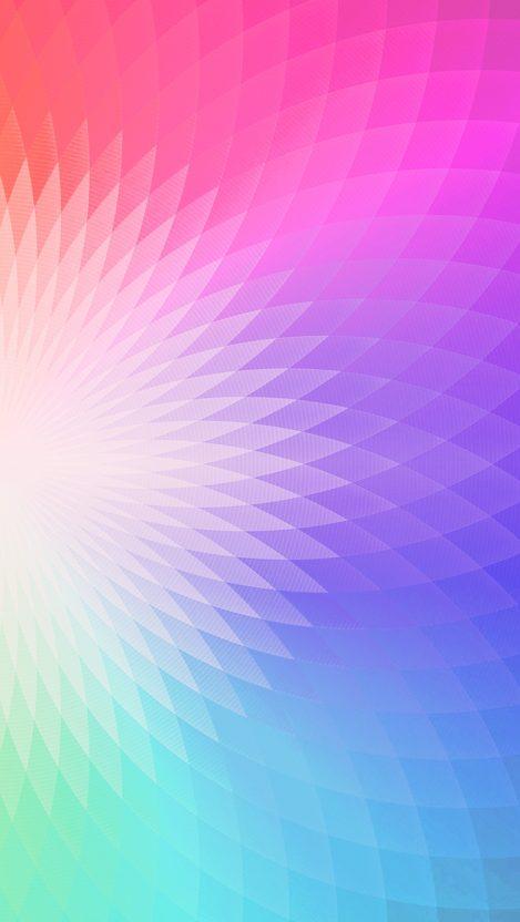 Abstract Rainbow Gradient Shape iPhone Wallpaper iphoneswallpapers com
