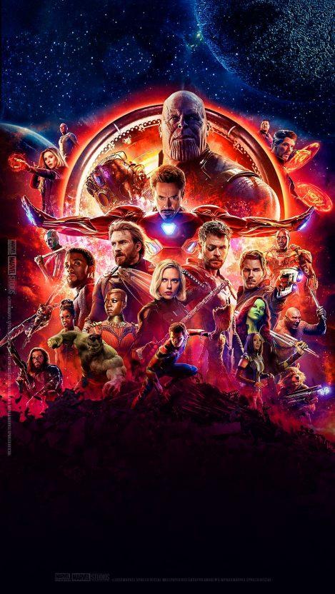 Avengers Infinity War Poster iPhone Wallpaper iphoneswallpapers com