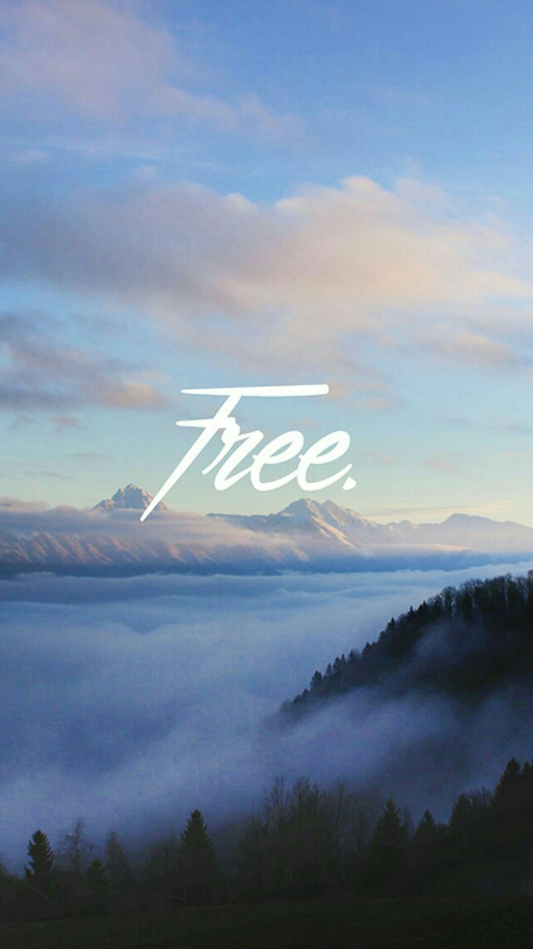 Be Free Quote iPhone Wallpaper iphoneswallpapers com
