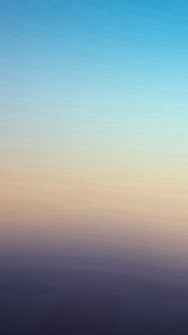 Blue Day Gradation Blur iPhone Wallpaper iphoneswallpapers com