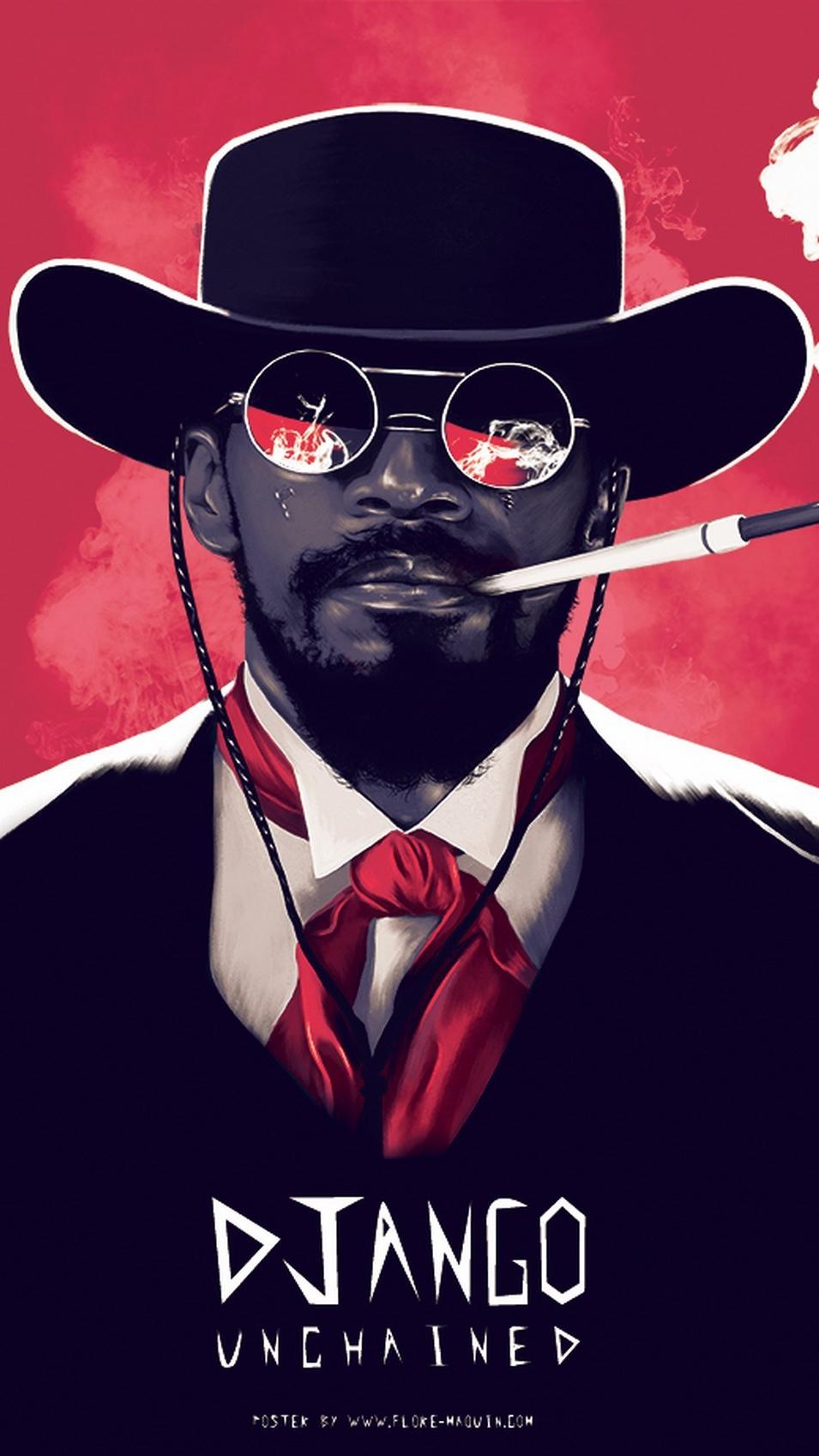 Django Unchained iPhone Wallpaper iphoneswallpapers com