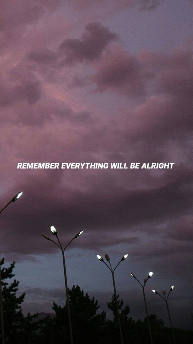 Everything Will be Alright Quote iPhone Wallpaper iphoneswallpapers com