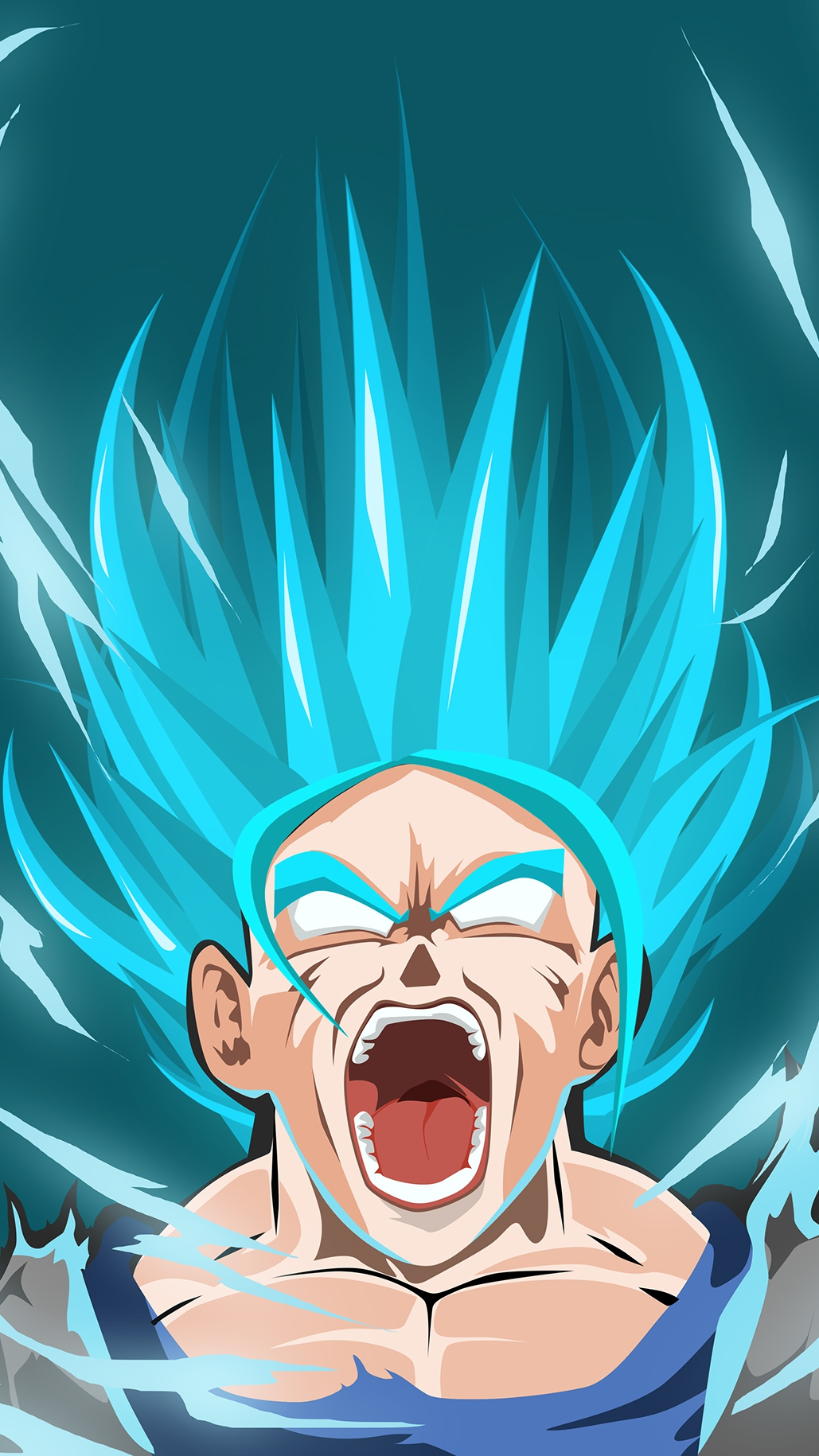 Goku Transformation Super Saiyan iPhone Wallpaper iphoneswallpapers com