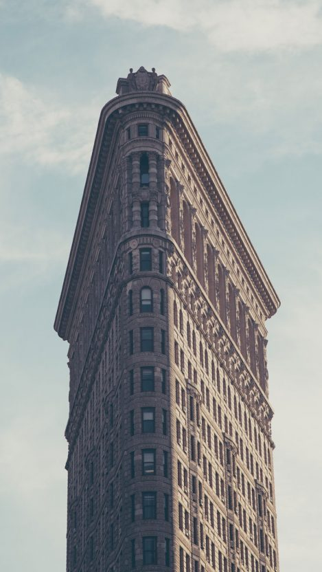 Manhattan Architecture IPhone Wallpaper