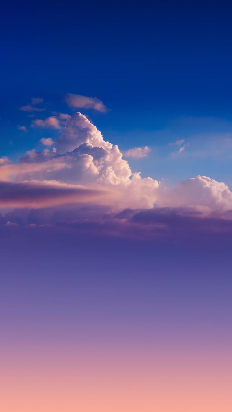 Pure Clouds iPhone Wallpaper iphoneswallpapers com