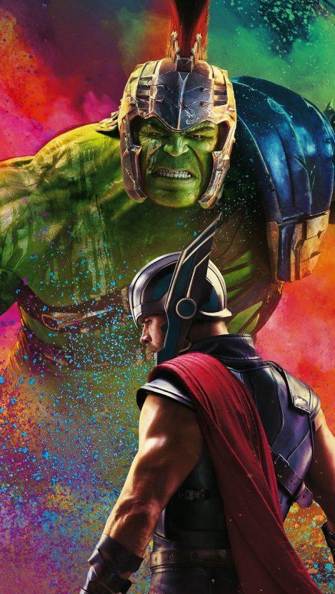 Thor Vs Hulk IPhone Wallpaper
