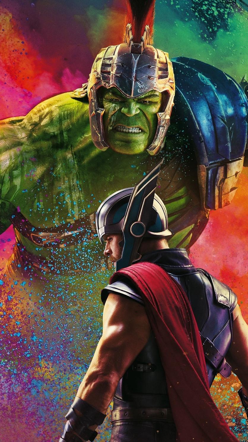 Thor vs Hulk iPhone Wallpaper iphoneswallpapers com