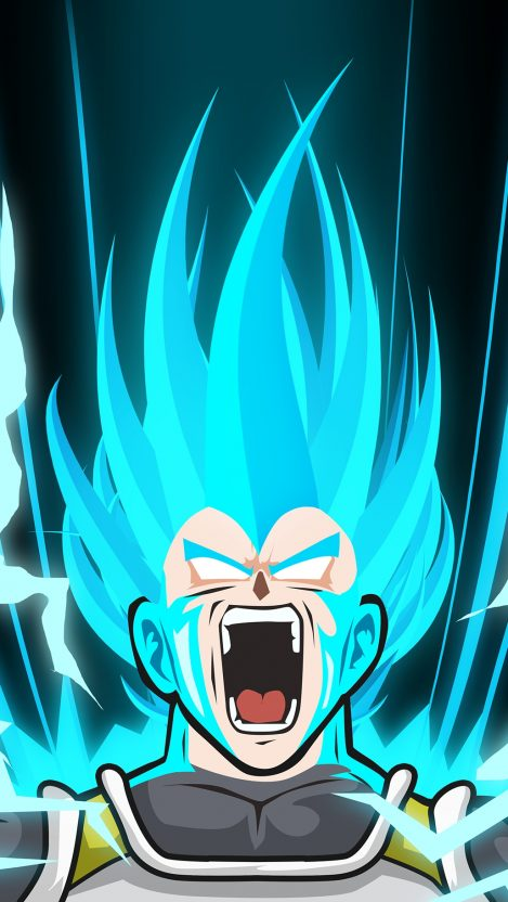 Vegeta Super Saiyan Dragon Ball Z IPhone Wallpaper