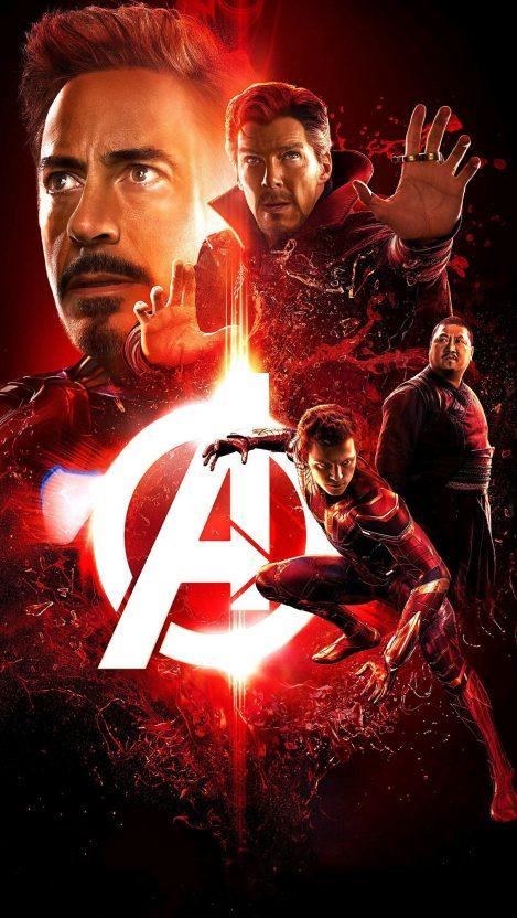 avengers infinity war iron man spider man doctor strange iPhone Wallpaper iphoneswallpapers com