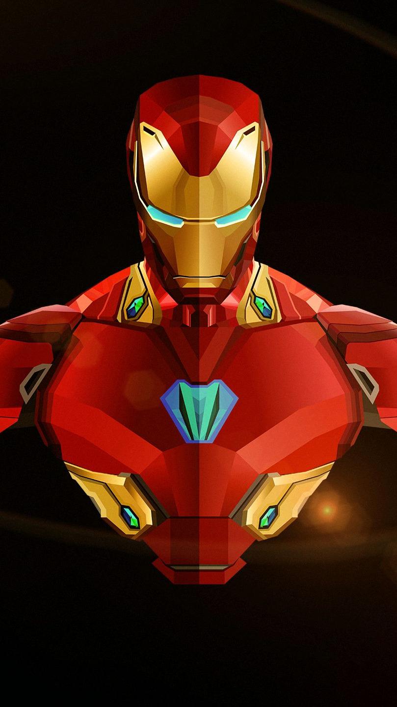 iron man avengers infinity war minimal HD iPhone Wallpaper iphoneswallpapers com