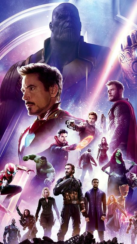 Avengers Infinity War Poster Art iPhone Wallpaper iphoneswallpapers com