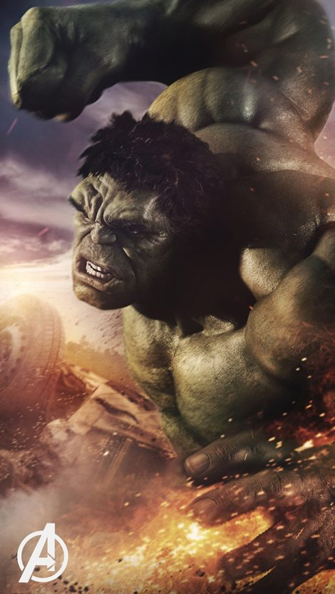 Avengers Hulk iPhone Wallpaper iphoneswallpapers com