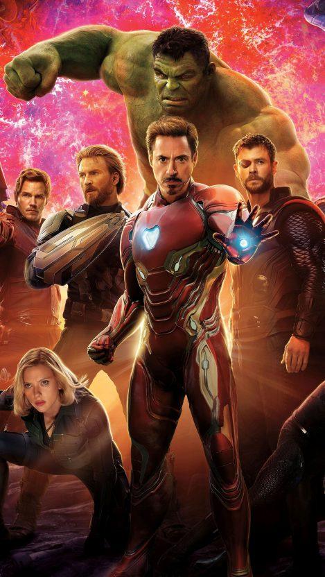 Avengers infinity war 2018 iPhone Wallpaper iphoneswallpapers com