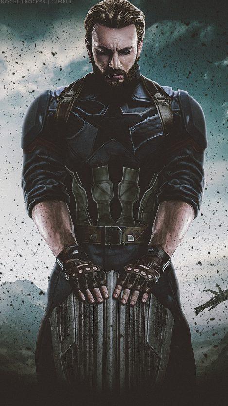 Captain America Avengers Infinity War iPhone Wallpaper iphoneswallpapers com