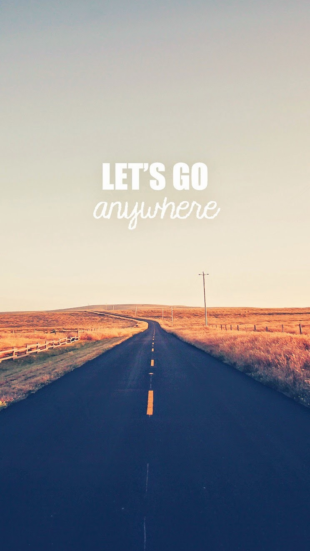 Go Anywhere Road iPhone Wallpaper iphoneswallpapers com
