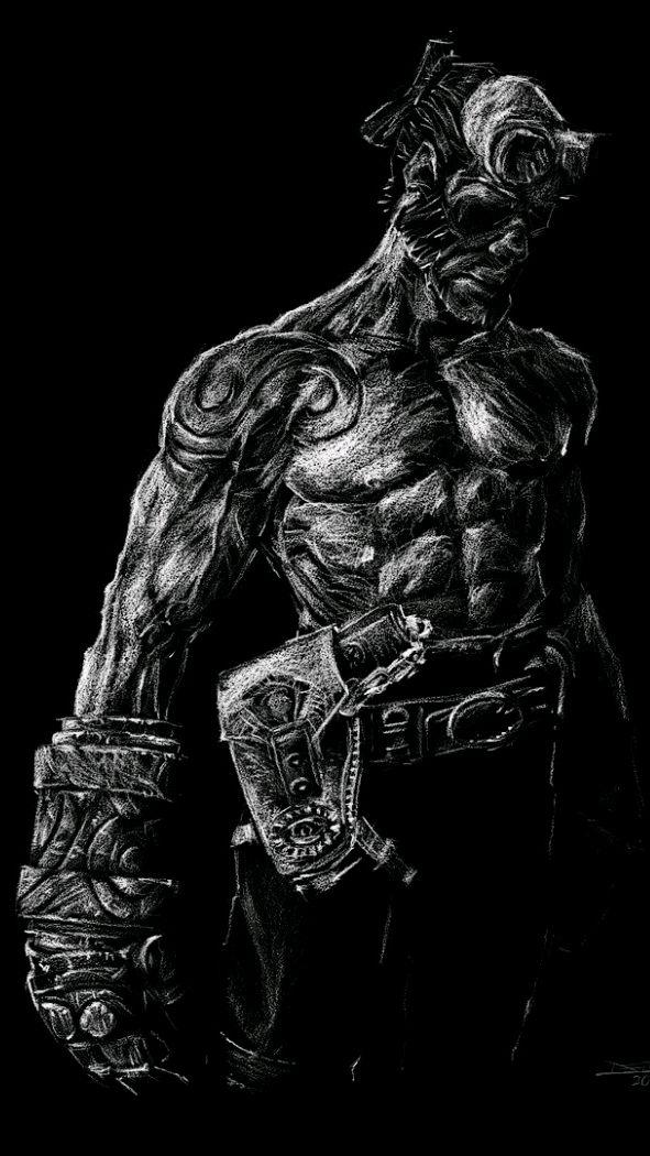 Hellboy iPhone Wallpaper iphoneswallpapers com