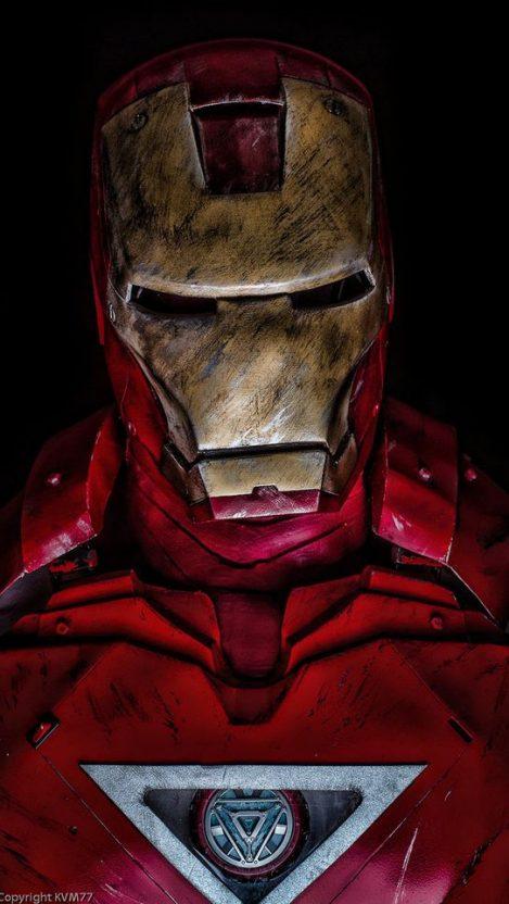 Iron Man Armour Suit iPhone Wallpaper iphoneswallpapers com